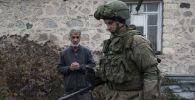 Россиянын аскери Тоолуу Карабахта. Архивдик сүрөт
