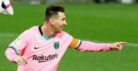 Каталондук Барселона клубунун чабуулчусу Лионель Месси