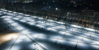 Бишкектеги Адинай паркы. Архивдик сүрөт