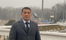Архивное фото главы Комитета физкультуры и спорта при мэрии Оша Бекдоолота Абакирова