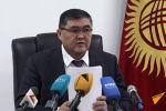 Сегодня, 24 декабря, председатель ГКНБ Камчыбек Ташиев выступает на пресс-конференции в здании Госкомитета национальной безопасности.