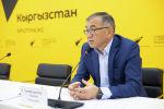 Заместитель председателя кабинета министров, министр экономики и финансов КР Улукбек Кармышаков. Архивное фото