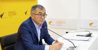 Вице-премьер-министр и глава Министерства экономики и финансов Улукбек Кармышаков. Архивное фото