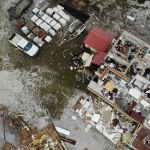 АШК, Салли ураганынын кесепетинен кыйраган үй