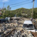 Грециядагы Янос бороонунун кесепети