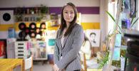 Бизнесвумен, бухгалтер Айжан Абдылдаева, открывшая компанию по предоставлению финансовых услуг