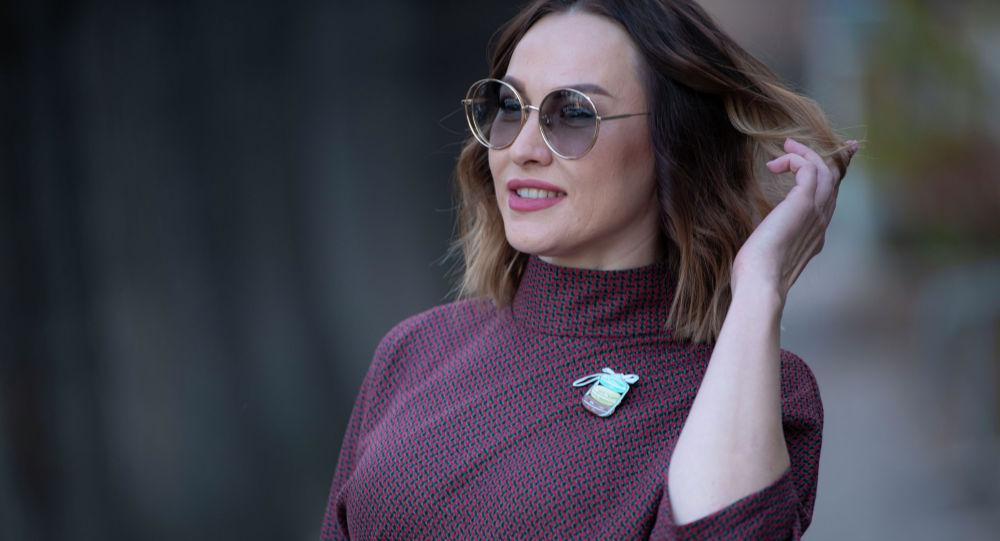 Наталья Неговора Бишкектеги ири кыймылсыз агенттиктеринин бирин жетекчиси