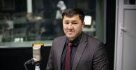 Бишкек шаарынын Ленин районунун мурадгы акими Чынасыл Чыныбаев. Архив
