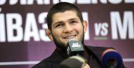 Архивное фото бойца смешанного стиля, чемпиона абсолютного бойцовского чемпионата (UFC) в легком весе Хабиба Нурмагомедова