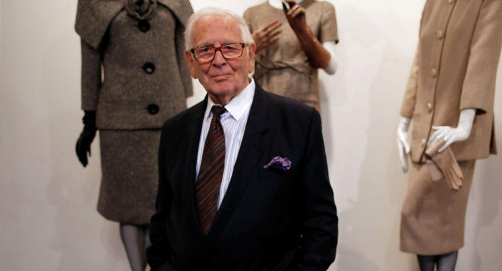 Французский модельер Пьер Карден. Архивное фото