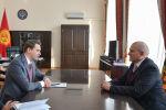 Артем Новиков и Николай Удовиченко обсудили вопросы двустороннего сотрудничества