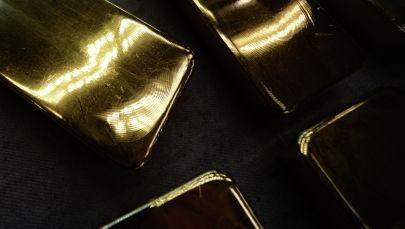 Слитки золота высшей пробы. Архивное фото