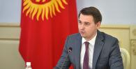 И.о. премьер-министра Артем Новиков
