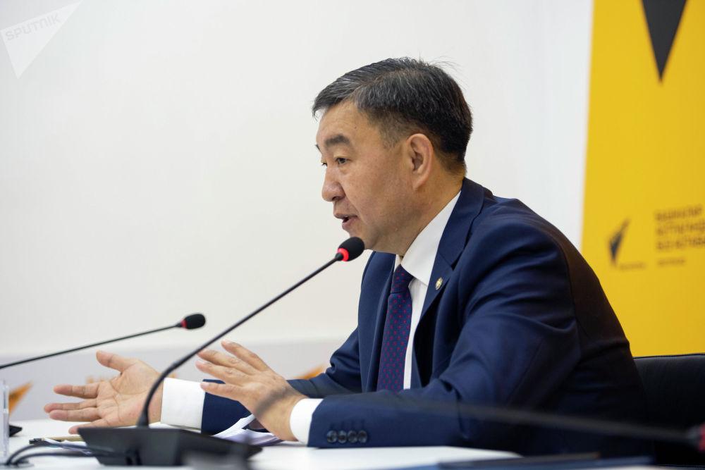 Он выступил в пресс-центре Sputnik Кыргызстан