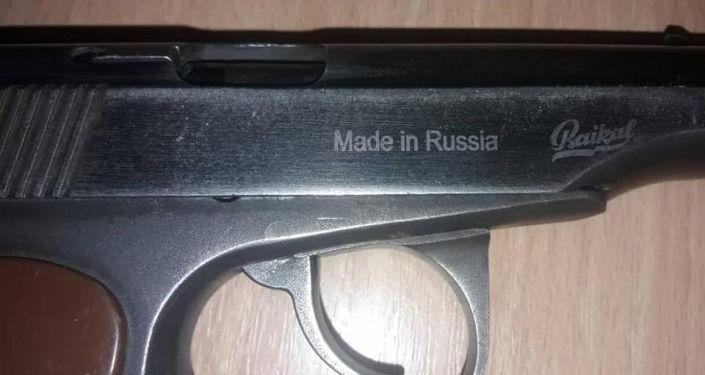 Огнестрельное оружие обнаруженное у жителя Баткенской области во время рейда