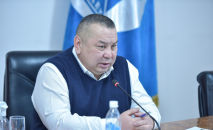 Исполняющий обязанности мэра Бишкека Балбак Тулобаев. Архивное фото