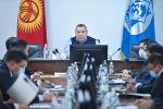 Мэрдин милдетин аткаруучу Балбак Түлөбаев