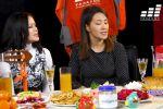 Сотрудники предприятия поздравили бишкекчан с Новым годом и исполнили песню из фильма Ирония судьбы или с легким паром на русском, кыргызском и английском языках.