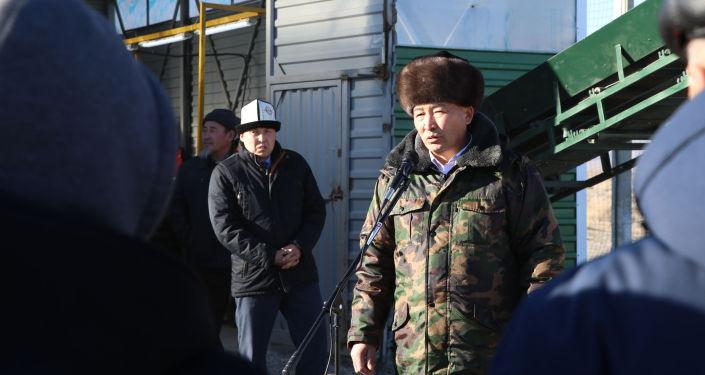 Таштанды иргөөчү комплекс Россиядан сатып алынып, 2020-жылдын май айында алып келинген