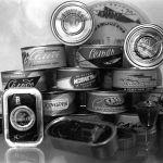 Светлый балык консерва заводунун продуктылары - атлантикалык сельдь, томат соусундагы сельдь, майдагы скумбрия, копперс, сельдь котлеттери
