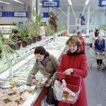Москва шаарынын Мир проспектисиндеги Океан дүкөнү. 1979-жыл