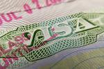Чет элдик паспорттогу виза мөөрү. Архив