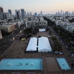 Тель-Авив шаарындагы вакцинация борбору