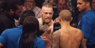 Абсолюттук мушкерлер уюму (UFC) өзүнүн YouTube каналына Дастин Порье менен Конор Макгрегордун кезектеги реванштык беттешине карата проморолик жарыялады.