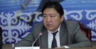 Статс-секретарь Минтранса Кыргызстана Эрмек Мамыркалиев. Архивное фото