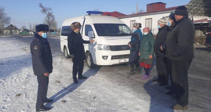 В Панфиловском районе начали работу передвижные пункты милиции (ППМ)