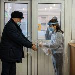 Президенттик шайлоо мурдагы өлкө башчысы Сооронбай Жээнбеков мөөнөтүнөн мурда кызматынан кеткенине байланыштуу белгиленген