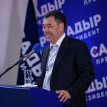 10-январь күнү Кыргызстанда президенттик шайлоо өттү. БШКнын акыркы маалыматтары боюнча, Жапаров шайлоочулардын 80 пайыз добушун алып, президенттик шайлоодо алдыда келе жатат