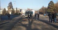 Площадь Ала-Тоо перекрыли
