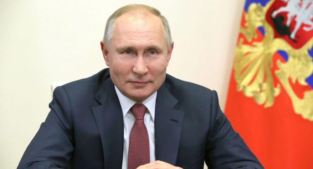 Россия Федерациясынын президенти Владимир Путин. Архив