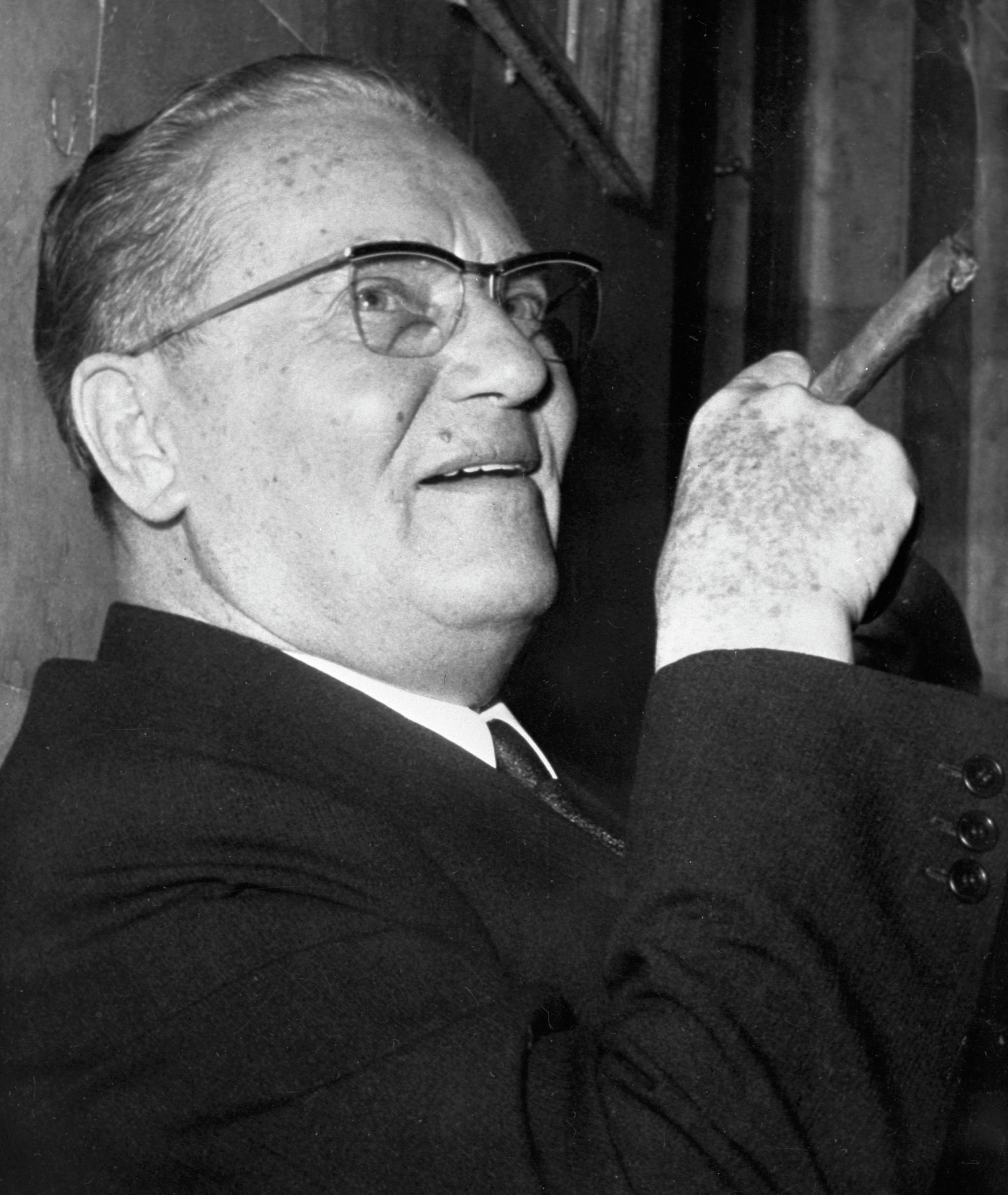 Бывший Президент Социалистической Федеративной Республики Югославия Иосип Броз Тито. Архивное фото