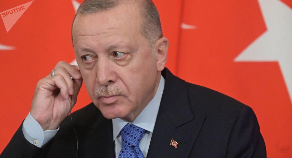 Түркиянын президенти Режеп Тайип Эрдоган. Архивдик сүрөт