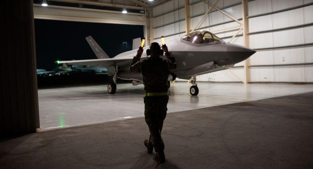 Истребитель F-35  Lightning II. Архивное фото