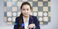 Казахстанская шахматистка Жансая Абдумалик. Архивное фото