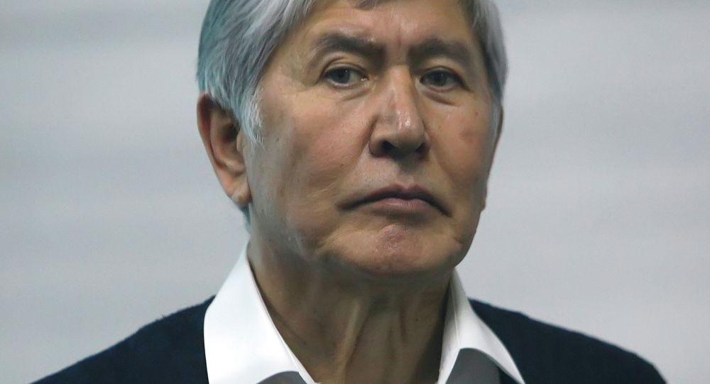 Бывший президент Кыргызстана Алмазбек Атамбаев. Архив