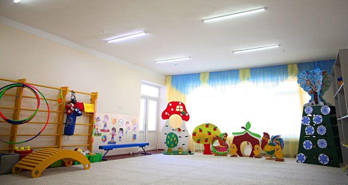 Церемония открытия детского сада №81 Балапан состоялась в городке Ак-Тилек города Ош. 14 января 2021 года