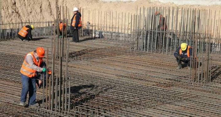 В городе Ош начато строительство дома для продажи через ипотечное кредитование