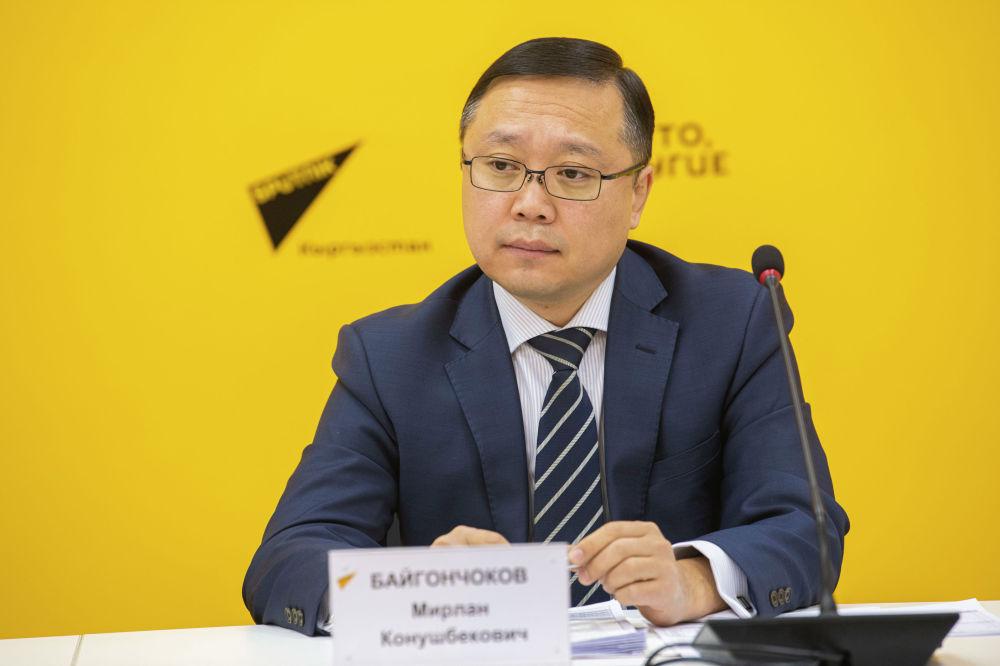 Заместитель министра Мирлан Байгончоков