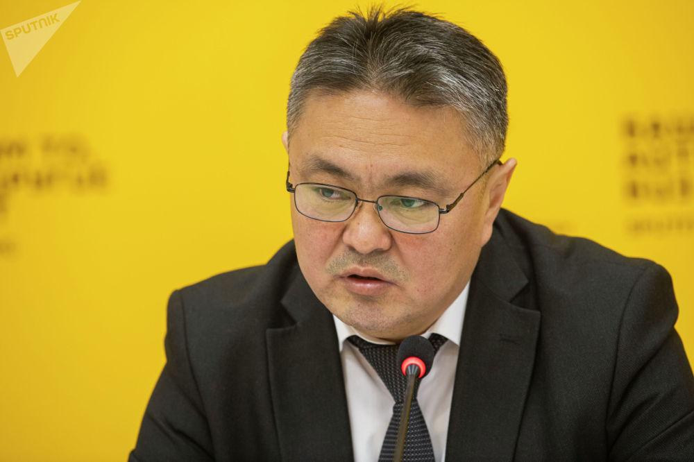Министр финансов Кыялбек Мукашев