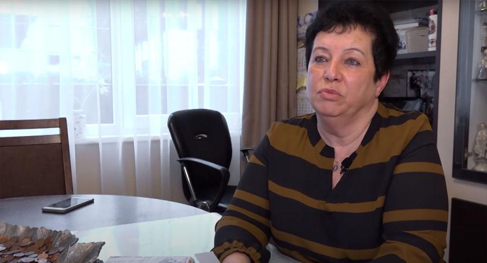Baltnews.lv агенттиги менен кызматташкан латвиялык журналист Алла Березовская