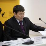 Директор Бишкекского троллейбусного управления Талантбек Капаров