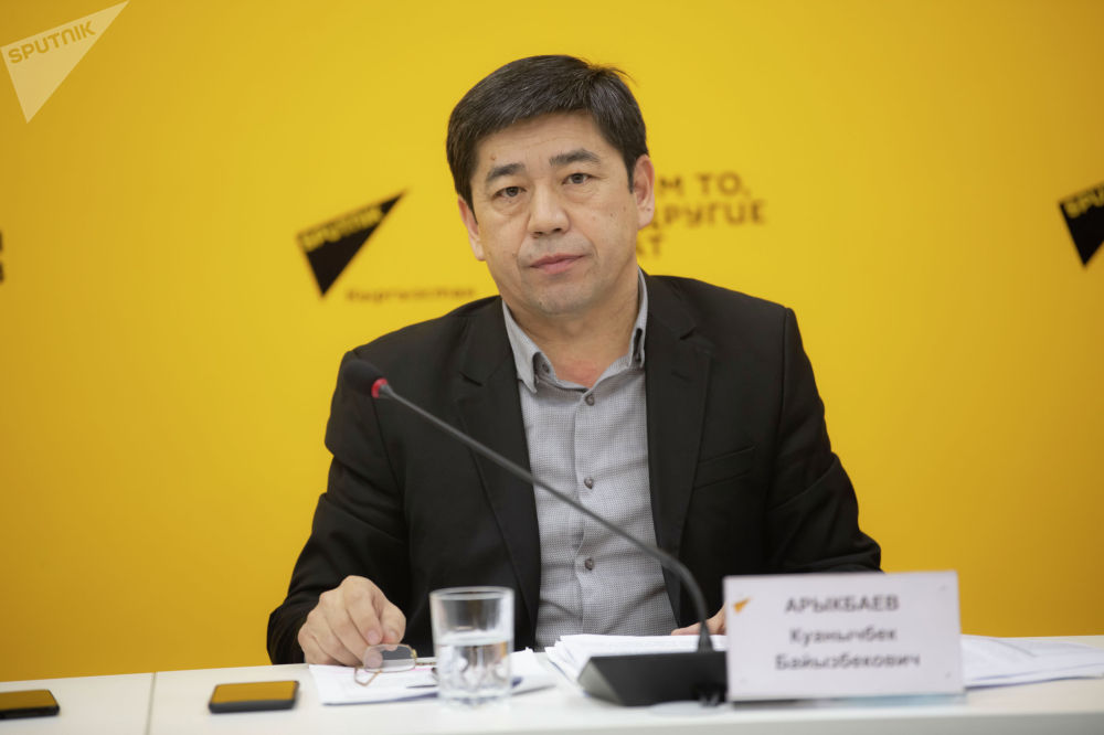 Директор МП Бишкекское пассажирское автотранспортное предприятие Куанычбек Арыкбаев