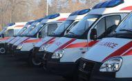 Кареты скорой помощи купленные медицинским учреждениям Джалал-Абадской области
