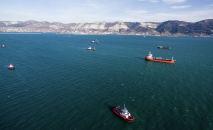 Корабли в Черном море. Архивное фото