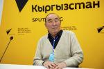 Мамлекеттик тил боюнча улуттук комиссиянын төрагасы, филология илимдеринин доктору, профессор Сыртбай Мусаев
