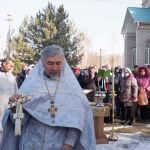Традиционные крещенские купания провели в селе Ленинском Чуйской области
